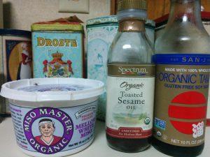 Toasted Sesame Oil, Miso & Tamari