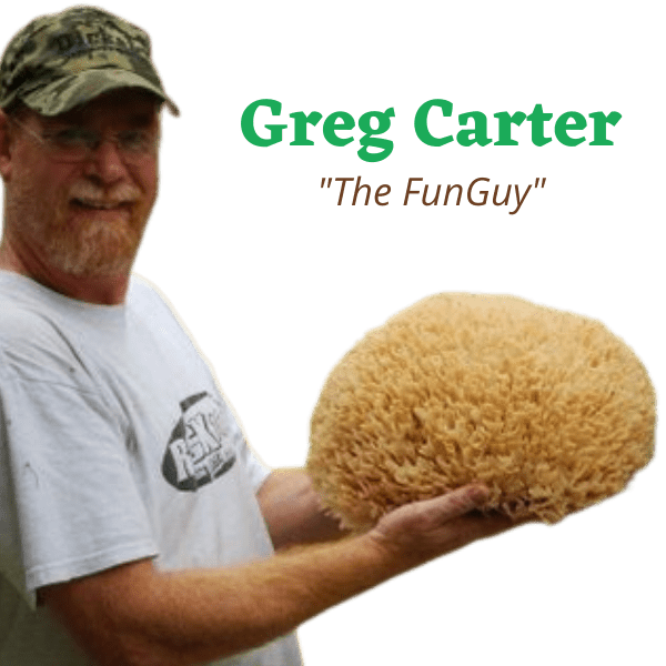 Greg Carter The Fun Guy Mushroom Farm Expert