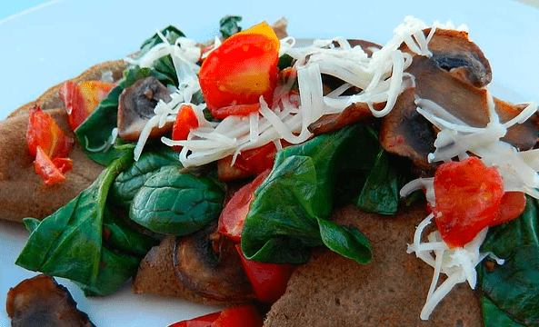 Savory French Crepes with Mushrooms